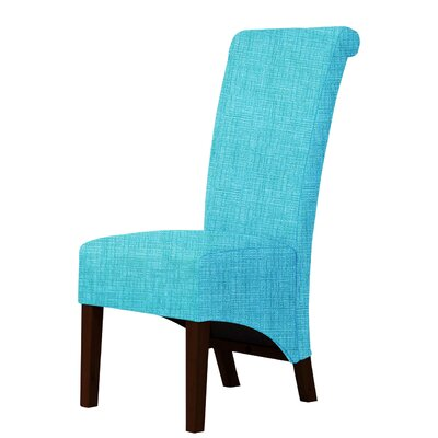 Keyesport Upholstered Parsons Chair Upholstery: Sky Blue