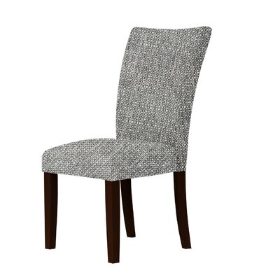 Wallington Contemporary Fabric Parsons Chair Upholstery: Gray