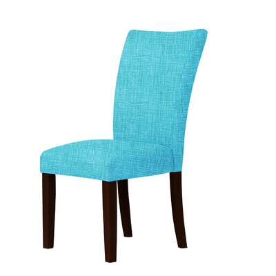 Wallington Parsons Chair Upholstery: Sky Blue