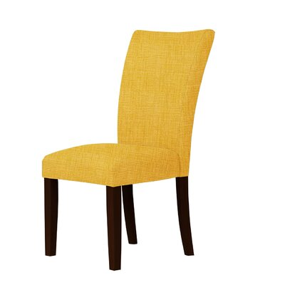 Wallington Fabric Parsons Chair Upholstery: Yellow