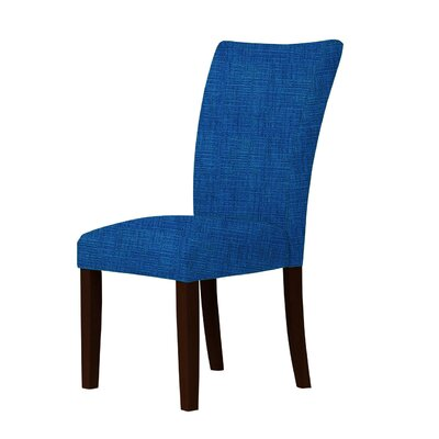 Wallington Fabric Parsons Chair Upholstery: Blue
