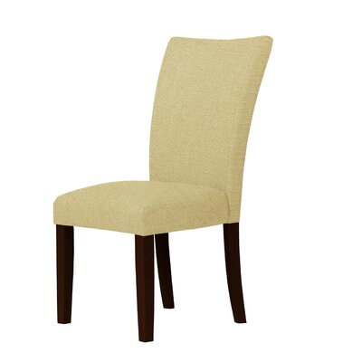 Wallington Dried Hardwood Parsons Chair Upholstery: Light Cream