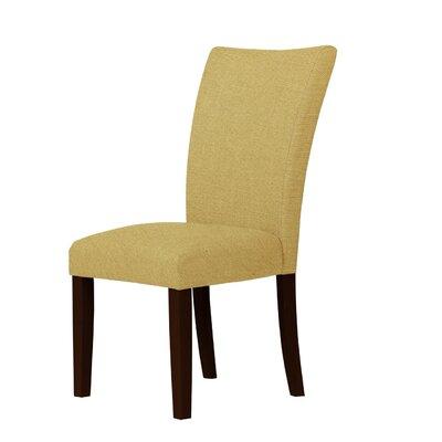 Wallington Parsons Chair Upholstery: Cream