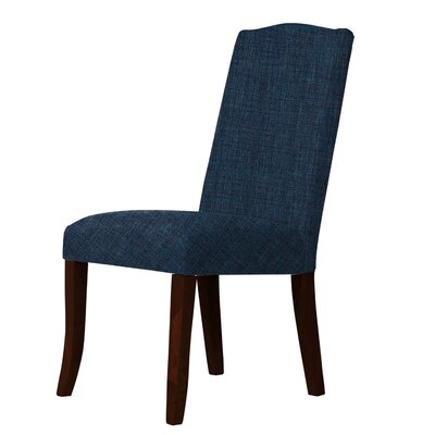 Lasseter Upholstered Dining Chair Upholstery: Blue