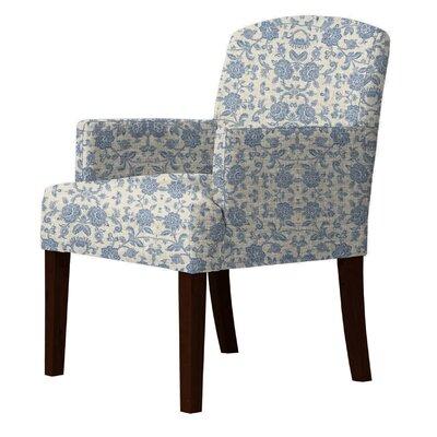 Keisha Armchair Upholstery: Blue