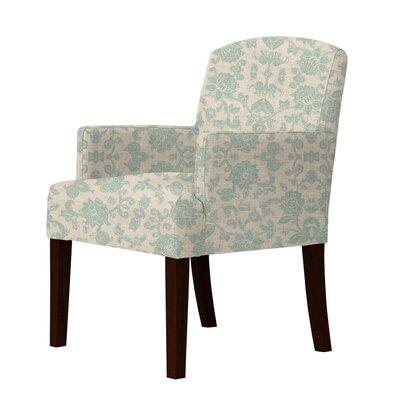 Keisha Armchair Upholstery: Green
