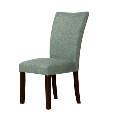Wallington Parsons Chair Upholstery: Green
