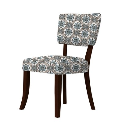Petra Curvilinear Fabric Side Chair