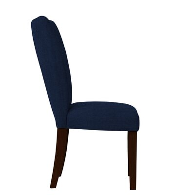 Wallington Blue/Brown Parsons Chair