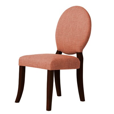 Lashley Upholstered Dining Chair Upholstery: Peach
