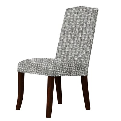 Lasseter Solid Back Contemporary Parsons Chair Upholstery: Gray
