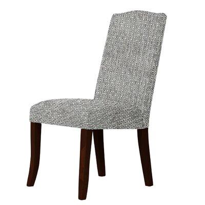 Lasseter Upholstered Dining Chair Upholstery: Gray