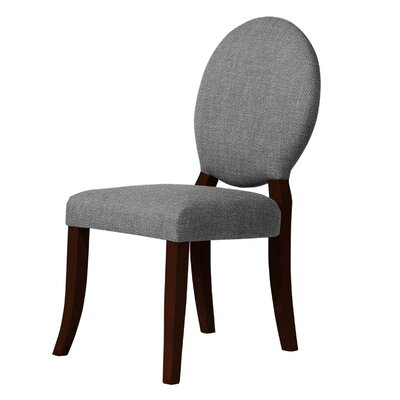 Lashley Upholstered Dining Chair Upholstery: Gray