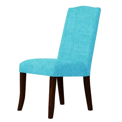 Lasseter Upholstered Dining Chair Upholstery: Sky Blue
