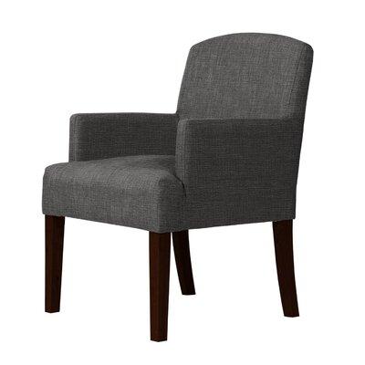 Larose Luxury Fabric Arm Chair Upholstery: Gray
