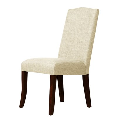 Lasseter Parsons Chair Upholstery: Ivory