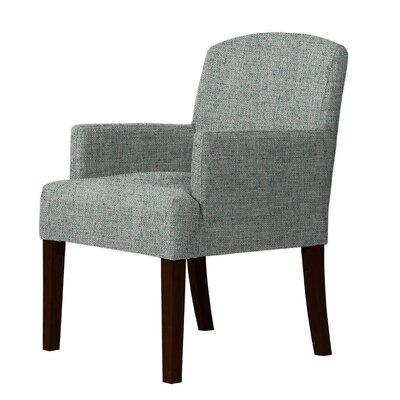 Larose Armchair Upholstery: Green/Gray