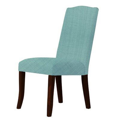 Lasseter Upholstered Dining Chair Upholstery: Green