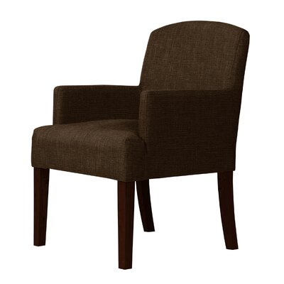 Larose Armchair Upholstery: Dark Brown