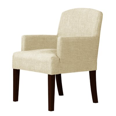 Larose Frame Hardwood Arm Chair Upholstery: Cream