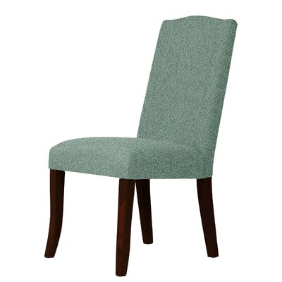 Lasseter Solid Contemporary Parsons Chair Upholstery: Green