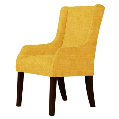 Macomb Wingback Chair Upholstery: Yellow