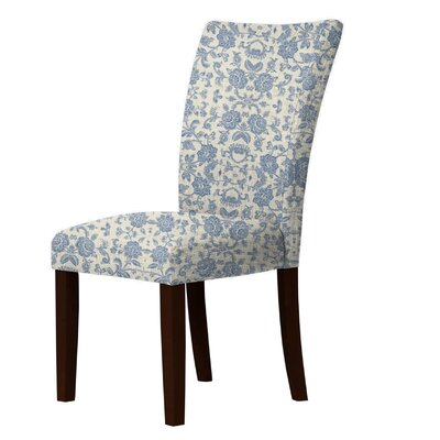 Latham Upholstered Dining Chair Upholstery: Blue