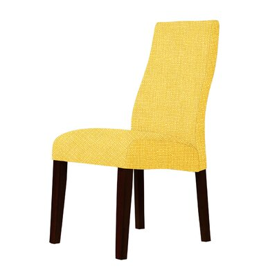 Haddonfield Contemporary Parsons Chair Upholstery: Yellow
