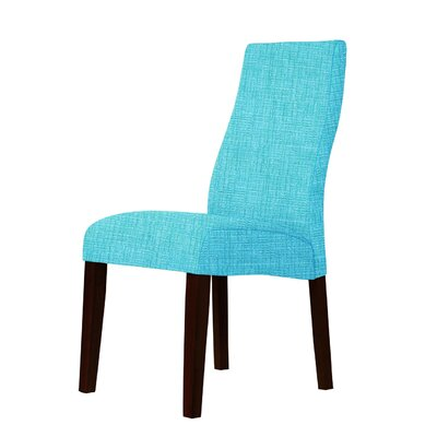 Haddonfield Upholstery Parsons Chair Upholstery: Sky Blue