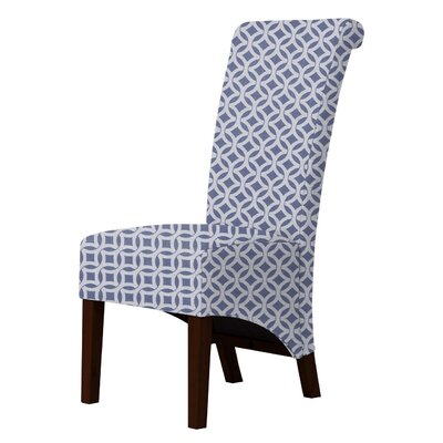 Audra Scroll-Back Parsons Chair