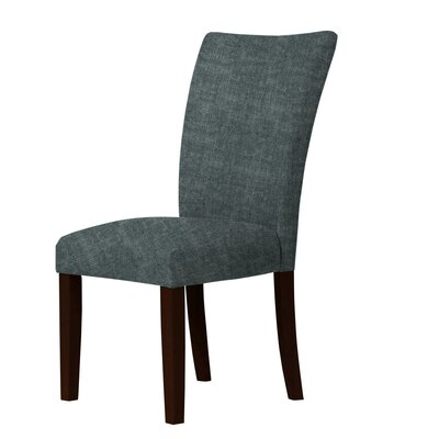 Wallington Parsons Chair Upholstery: Dark Slate Gray