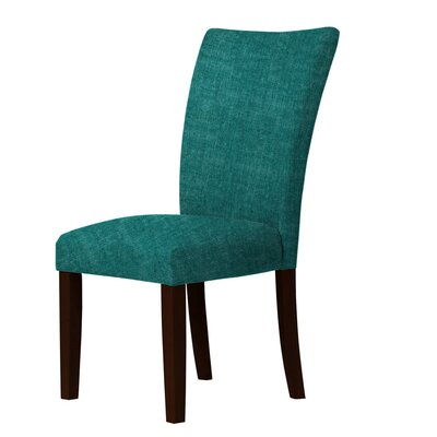 Wallington Parsons Chair Upholstery: Dark Cyan