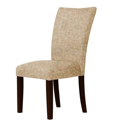 Wallington Parsons Chair Upholstery: Light Brown