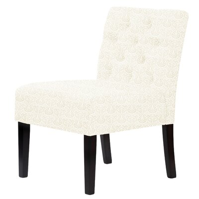 Lashbrook Slipper Chair Upholstery: Cream