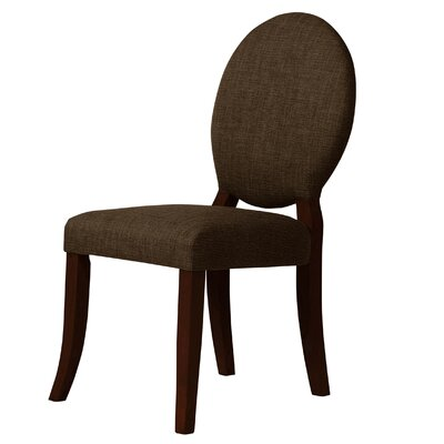 Lashley Upholstered Dining Chair  Upholstery: Brown