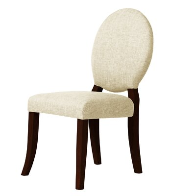 Lashley Side Chair Upholstery: Cream