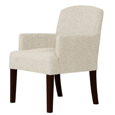 Larose Hardwood Framed Arm Chair Upholstery: Cream