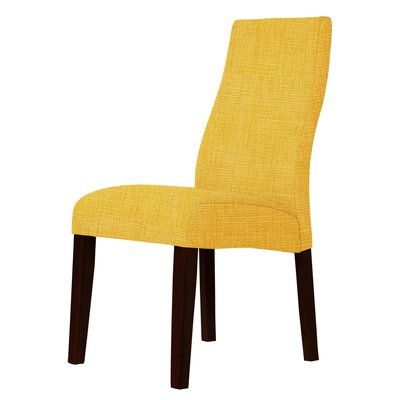 Haddonfield Upholstery Parsons Chair Upholstery: Yellow