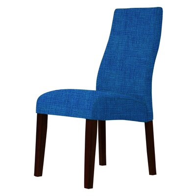 Haddonfield Upholstery Parsons Chair Upholstery: Blue
