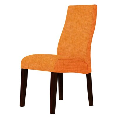 Haddonfield Parsons Chair Upholstery: Orange