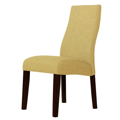 Haddonfield Parsons Chair Upholstery: Cream
