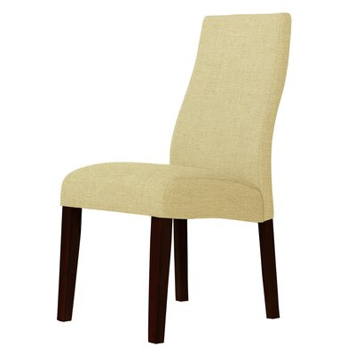 Haddonfield Parsons Chair Upholstery: Light Cream