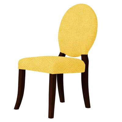 Lashley Upholstered Dining Chair Upholstery: Yellow