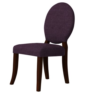Lashley Upholstered Dining Chair Upholstery: Dark Purple