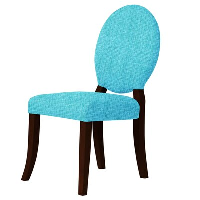 Lashley Upholstered Dining Chair Upholstery: Sky Blue