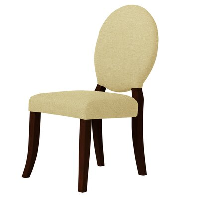 Lashley Curved Legs Upholstered Side Chair Upholstery: Cream