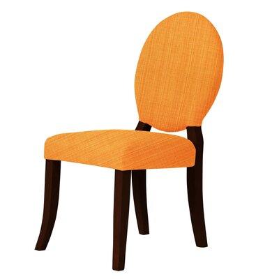 Lashley Padded Side Chair Upholstery: Orange
