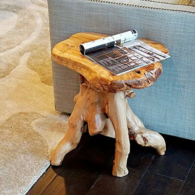 Root Wood Stand End Table
