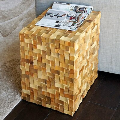Handmade Craft Root Carving Wood End Table