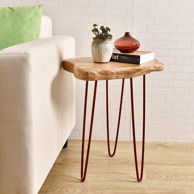 Cedar Wood Large End Table